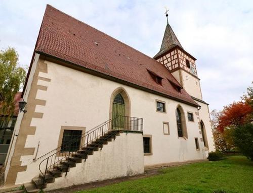 Reinigung Naturstein Oswaldkirche