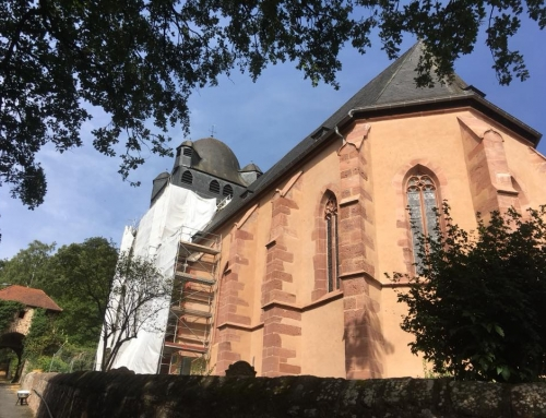 Farbentfernung historische Kirche